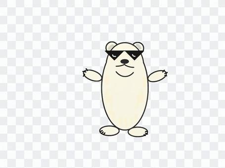玻璃熊北極熊