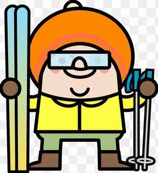 滑雪仙女叔叔
