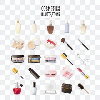 化妝品插圖