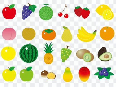 可愛的水果