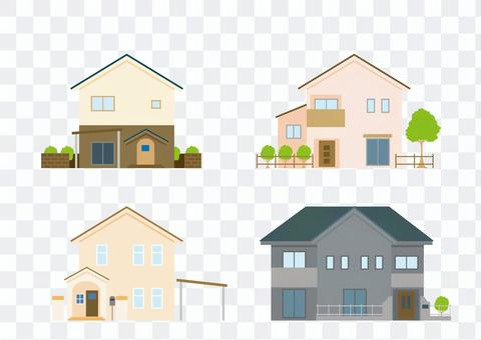 Vector-My Home Set