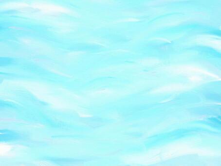 水彩風 水面