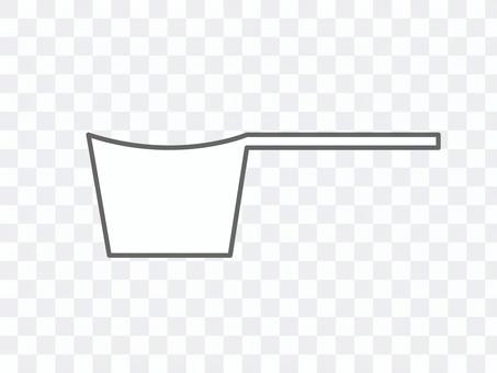 コーヒー計量スプーン アイコン PNG有