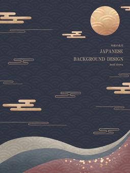Mid-Autumn Moon Japan Background 8