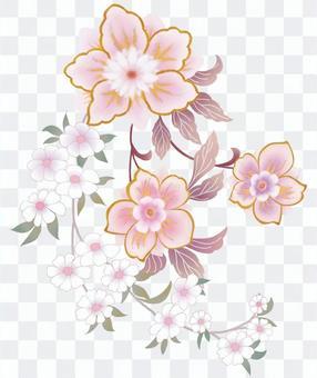 花の装飾パーツ素材