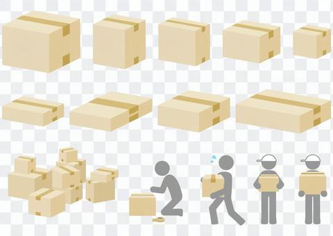 各種尺寸和載體的紙板
