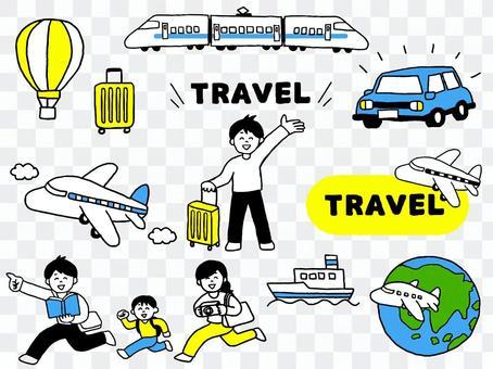 旅行セット(シンプル)