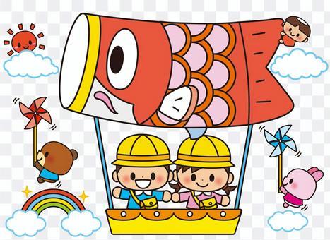 鯉魚旗氣球