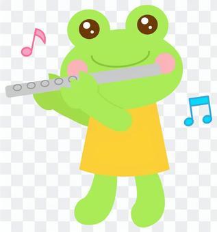 フルート カエル 蛙