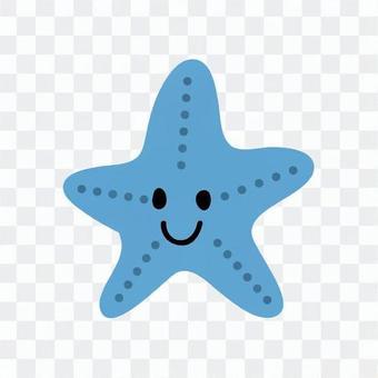 Laughing starfish