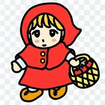 可愛的小紅帽(彩色)