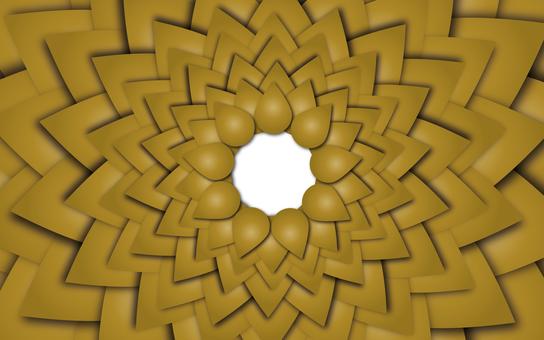 背景材料簡單的圖形圖案金色