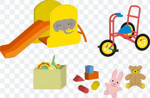 遊戲室玩具