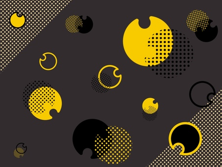 Simple and cute modern background wallpaper (black)