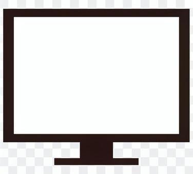 個人電腦顯示器電視【剪影】
