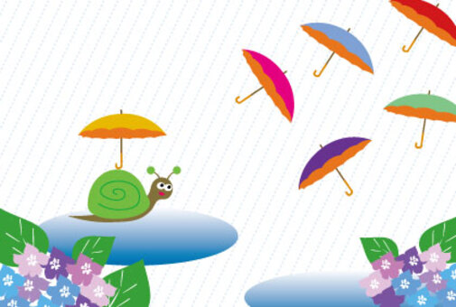 傘蝸牛和八仙花屬消息卡