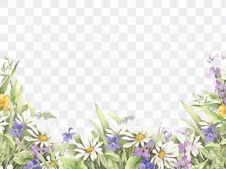 花框架98  - 春天小花花框架