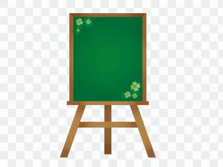 Easel Clover (blackboard)