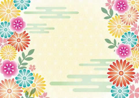 日本的装饰框架