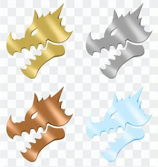 ドラゴンのエンブレム