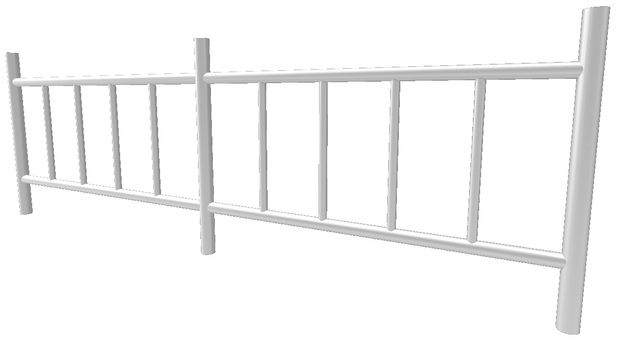 Fall prevention fence