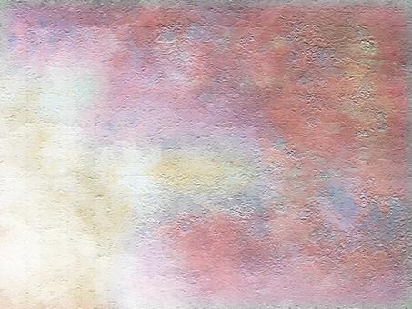 歐式古堡風格舊牆背景粉色