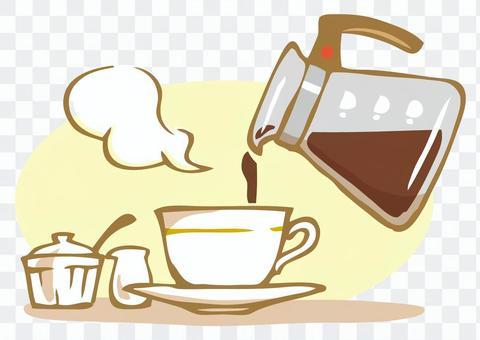 現磨咖啡時間