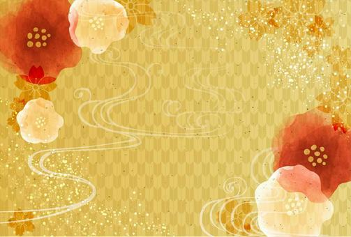 Japanese style background material 27