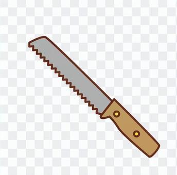 Pan cutting knife