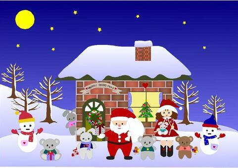 Fellow of Santa and Christmas