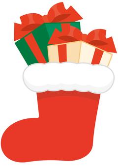 Christmas socks (with gifts)