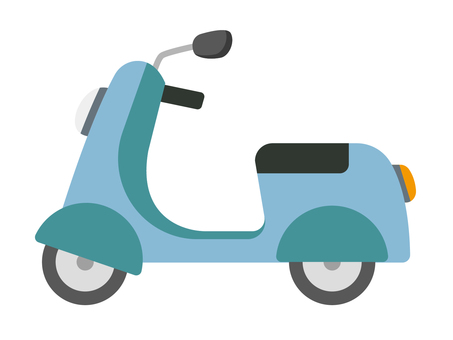 Scooter (blue)