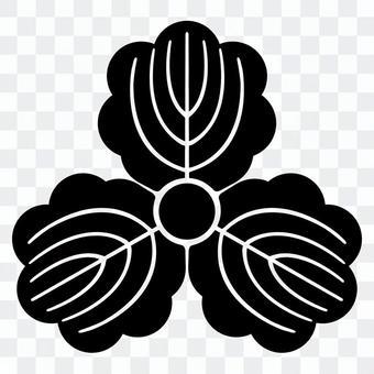 柏紋 三つ柏 일본의 가문