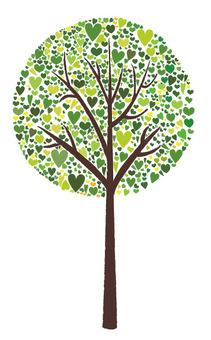 하트 나무 마루 버전