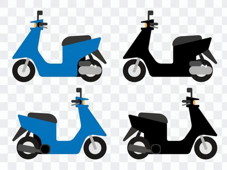 Scooter / motorized bicycle