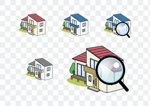 獨立式住宅調查檢查外牆屋頂