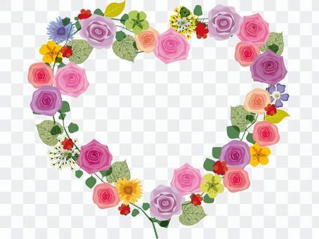 心框架_玫瑰