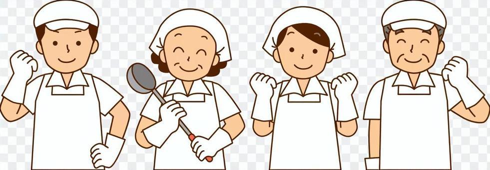 烹飪/烹飪援助人員