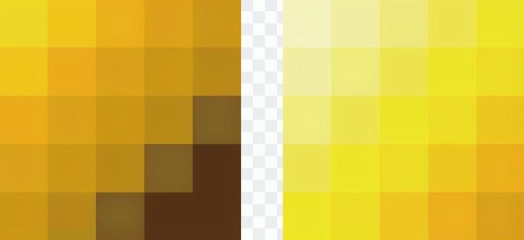 馬賽克漸變黃色