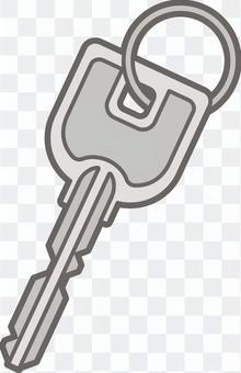 長谷川式癡呆 - 鑰匙 - 全身