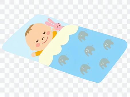 寶貝睡覺的臉