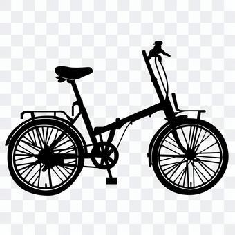 自行車剪影