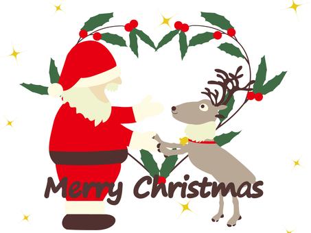 相信聖誕老人和馴鹿