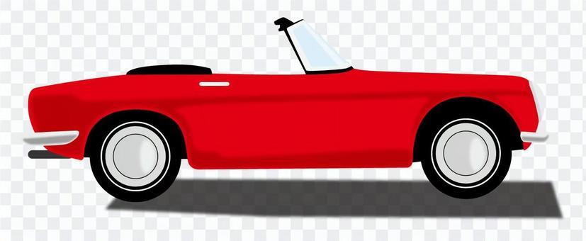 紅色打開車