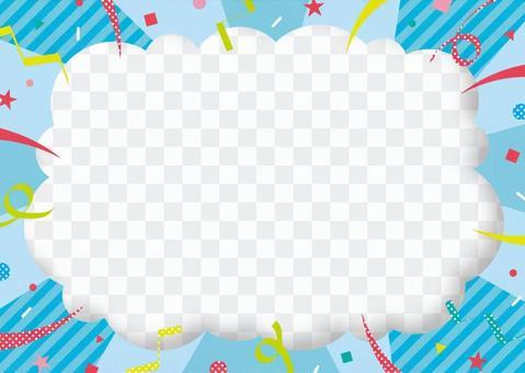 三維mokomoko框架_集中線02