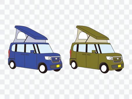 輕型汽車露營車