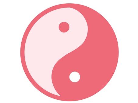 In Yang Pink Yin Yang Mark