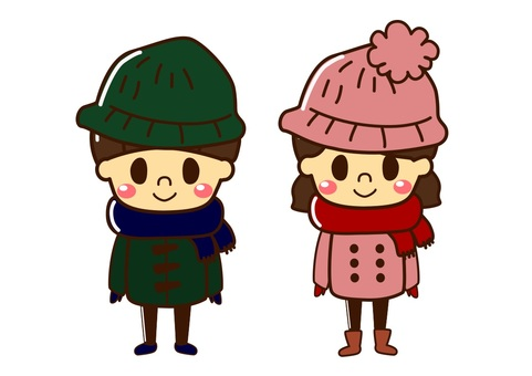 冬季男孩女孩針織帽