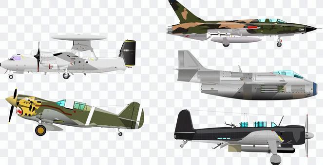 飛機戰鬥機螺旋槳飛機