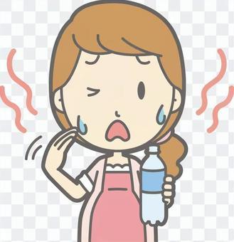 孕婦 - 熱 - 胸圍